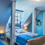 Double bed in room nr 5